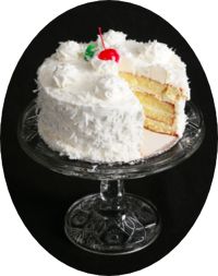 Cocoanut cake